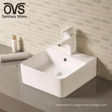 En gros de bonne qualité nouveau comptoir monté lavabo