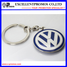 Chaveiro de metal personalizado para a corrente chave por atacado (EP-K58305)