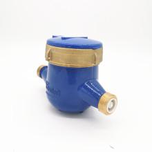 15mm Water Flow Meter Class B Mulit Jet Super Dry Type Cold Brass Body Water Meter