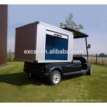 Elektrische Kraftstoffart und 48V Batteriespannung Elektrischer Golfwagen und Cargo-Box