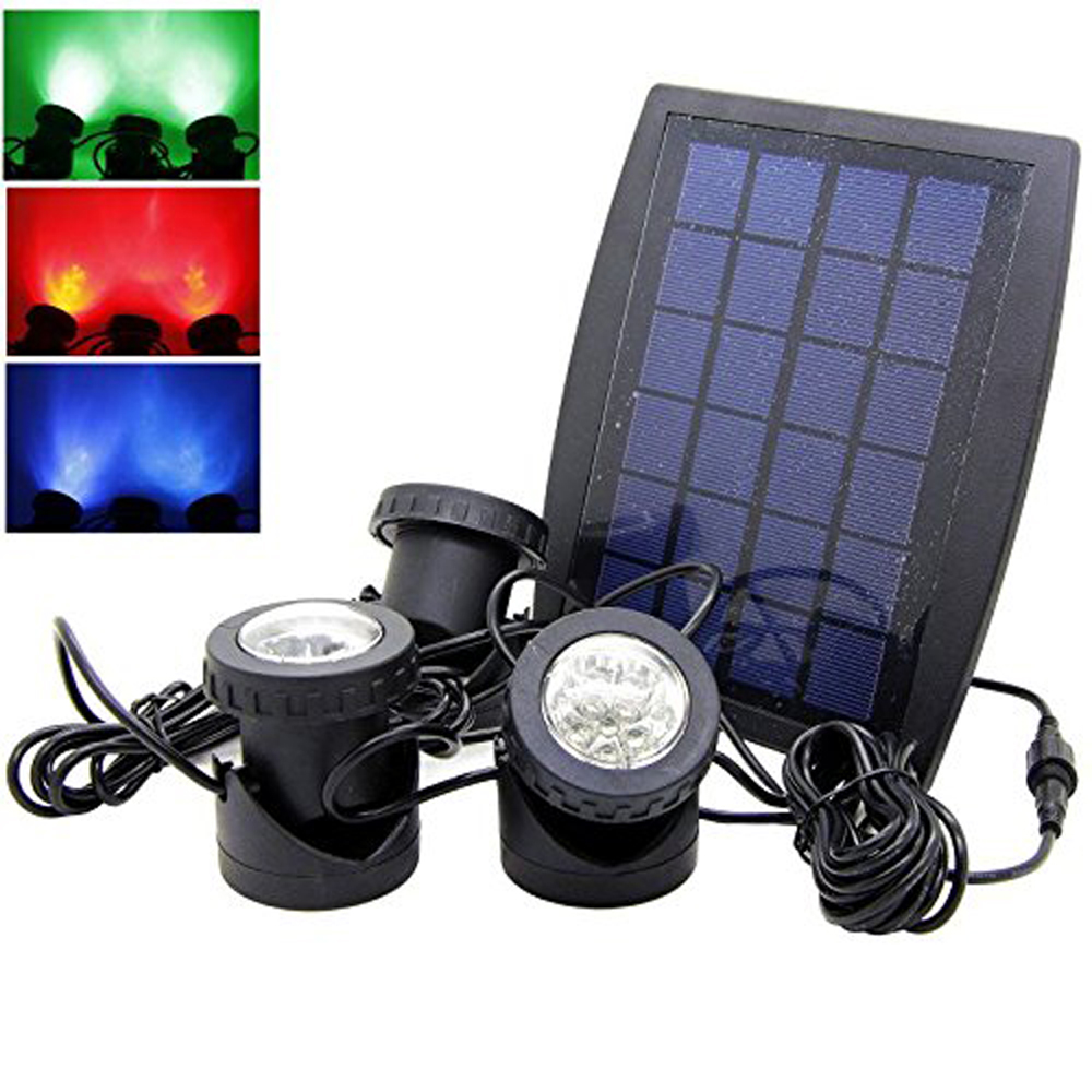 Solar RGB Color Changing Light