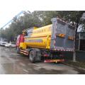 Grue montée sur camion à ordures compact FAW