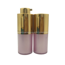 30ml 50ml plastic cosmetic packaging colorful cosmetic airless pump bottle