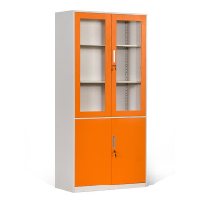 Featheredged Storage Cabinets with Glass Door