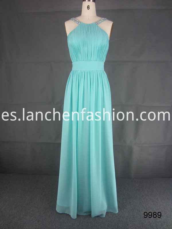 Bridesmaid Cocktail Chiffon Dress