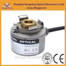 China Encoder fábrica K35 Hollow Shaft 37mm Cilindro de deslocamento Fabricante UVW Signal ABZA-BZ-UU-VV-WW- fase