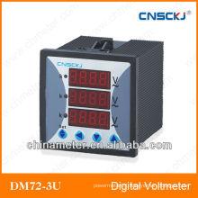 SCD914Z-7X4-3U 72*72 digital three phase voltmeter