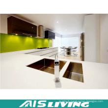Armoires de cuisine à l'armoires de prix en usine avec robinets (AIS-K193)
