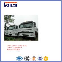 Camião basculante chinês caminhão HOWO feito em 2016 bom preço