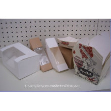Food Paper Packing Plastic Food Sandwich Box