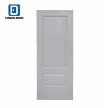 Fangda moderne couleur blanche 36 pouces porte en acier