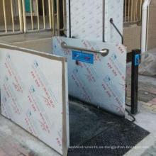 Plataforma para discapacitados Acceso para silla de ruedas Escalera elevadora para uso doméstico