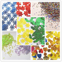 Hexagon Glitter Powder, Verpackungsdekoration
