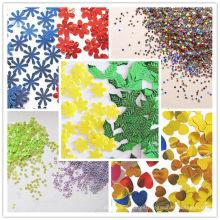 Hexagon Glitter Powder, decoración de envases