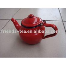 pot de thé d'émail
