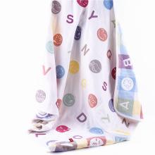 Nuevo diseño Muslin Animal Design Baby Blanket