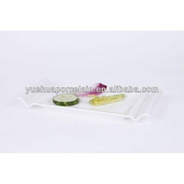 Японские белые фарфоровые тарелки