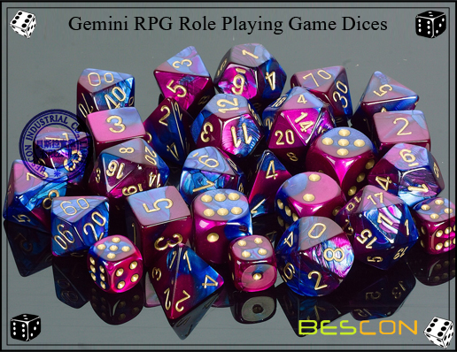 Gemini RPG Dice Set-4