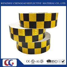 Dupla Cores Grade Design PVC 5 Cm Reflexiva Tape-Crystal Lattice Film