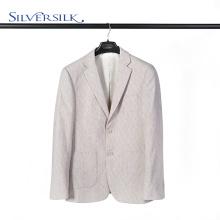 Британский шерстяной пиджак из полиэстера с двумя пуговицами