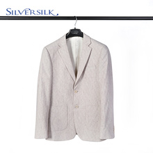 British Wool Polyester Two Button Jacket Man Blazer