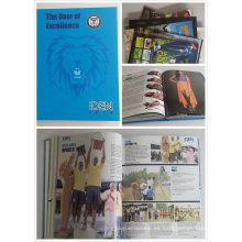 Diseño de cliente Libro de tapa dura / revista / folleto de impresión
