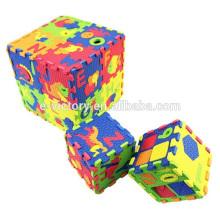Alfombra para niños por mayor partido eva conjunto 36pcs bebé juego estera niños 36 letras inglesas puzzle actividad estera estera de la espuma para bebés