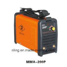 Máquina portátil da soldadura do arco do inversor IGBT (MMA-140P / 160P / 200P)