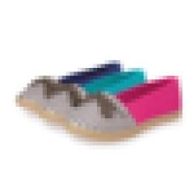 2016 Цена фабрики TPR единственная женская фалт-обувь Espadrille
