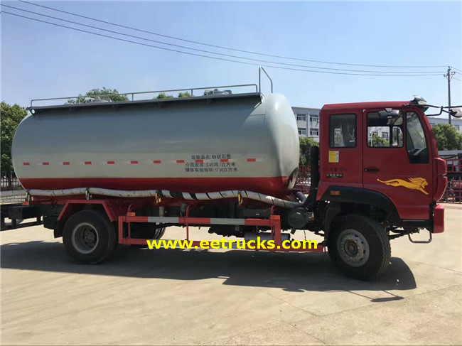 5000 Gallon Dry Powder Tankers