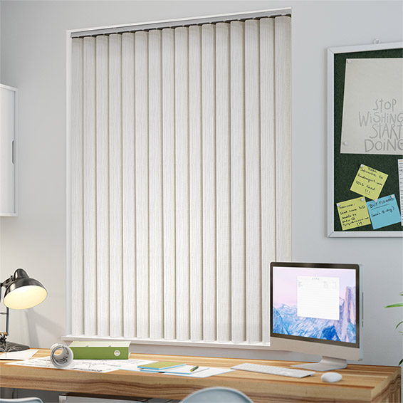 Foam wood vertical blinds