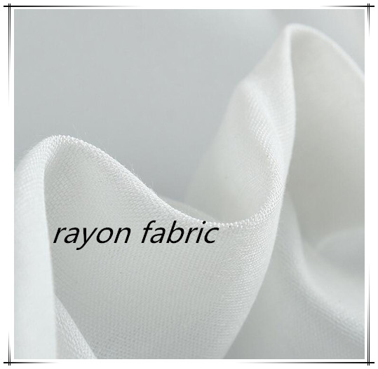 Fashionable 100%Rayon Dyed Fabric For Ladies' Dress
