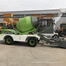 1.8CBM self-loading concrete mixer truck