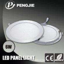 Luz de painel do teto do diodo emissor de luz 120X120 6W para interno com CE