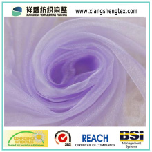 Polyester Organza Fabric for Wedding Dress (XSOR-1028)