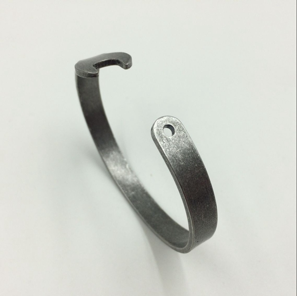 Antique Silver Plated Wrench Tool Cuff Bracelet Bangle