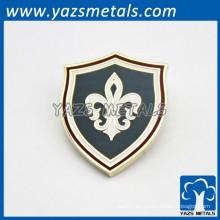 Custom metal badges lapel pins esmalte suave artesanal