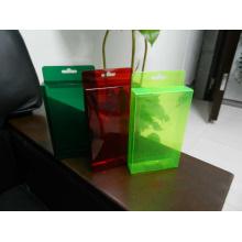 Цветной пластиковый ПВХ-ящик (подарочная упаковка)