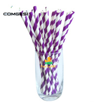 Eco colorful paper straws recycled paper straws custom printing with high quality