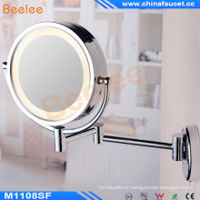 Wall Mounted Bathroom Magnifying Light Sensor Mirror with CE