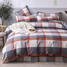 Cottage Cotton Fabric Bed Sheet Cheap Price Fashion Style Breathable Stripe
