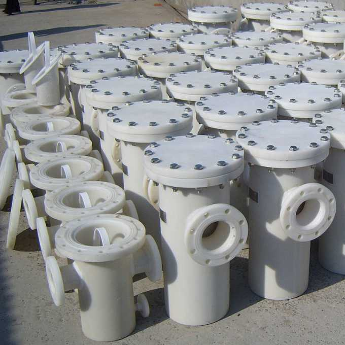PP Plastic Pipeline Filter (2)