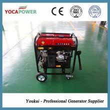 4kVA Generador de gasolina de la energía de la sola fase fijado para la venta caliente