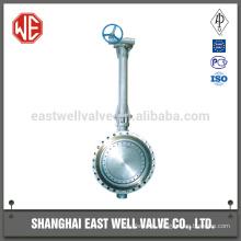 Long stem butterfly valve