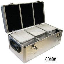 CD de alta calidad y fuerte 720 discos aluminio CD caso ventas por mayor de China fabricante