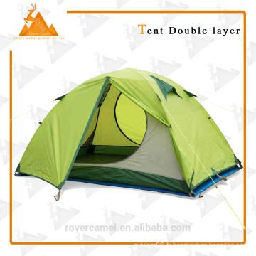 205 * 205 * 120 cm Double personne étanche Double couche extérieur Camping Gear Durable pique-nique tente