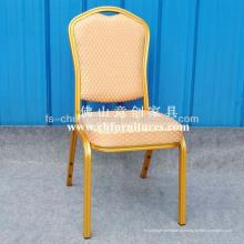 Elegante restaurante laranja cadeira de jantar (yc-zl07-13)