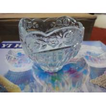 Tigela de vidro com belo design utensílios de cozinha Kb-hn0486