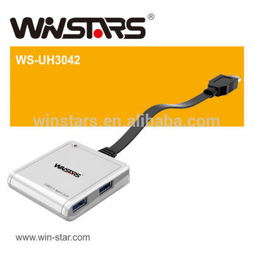 4 Port 1.5A Aufladung USB 3.0 Nabe, superspeed (5Gbps) usb 3.0 Nabe