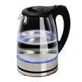 Electric Kettle Water Heater with SpeedBoil Tech Glass Tea Coffee Pot 1.8 Liter Cordless with LED Light Glass Kettle